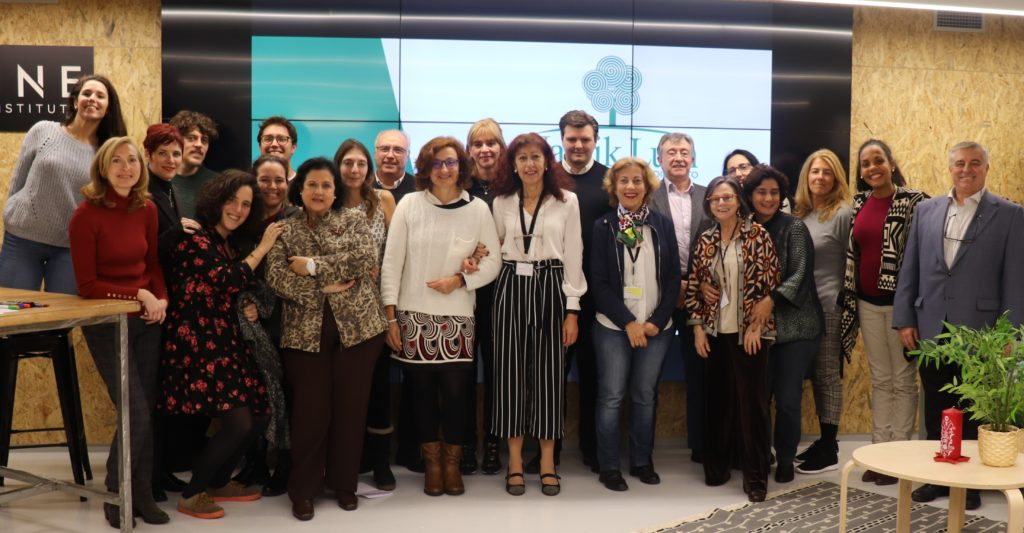 Encuentro anual del equipo de voluntariado de la Fundación Nantik Lum en febrero de 2020.